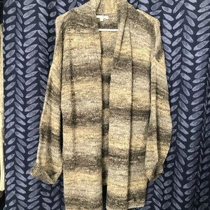 Amuse Society Ombré Sweater Cardigan